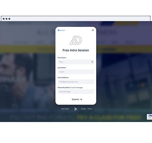 Lead Capture Forms Funnels For Website
